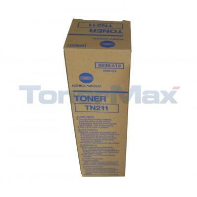 KONICA BIZHUB 200 TONER BLACK